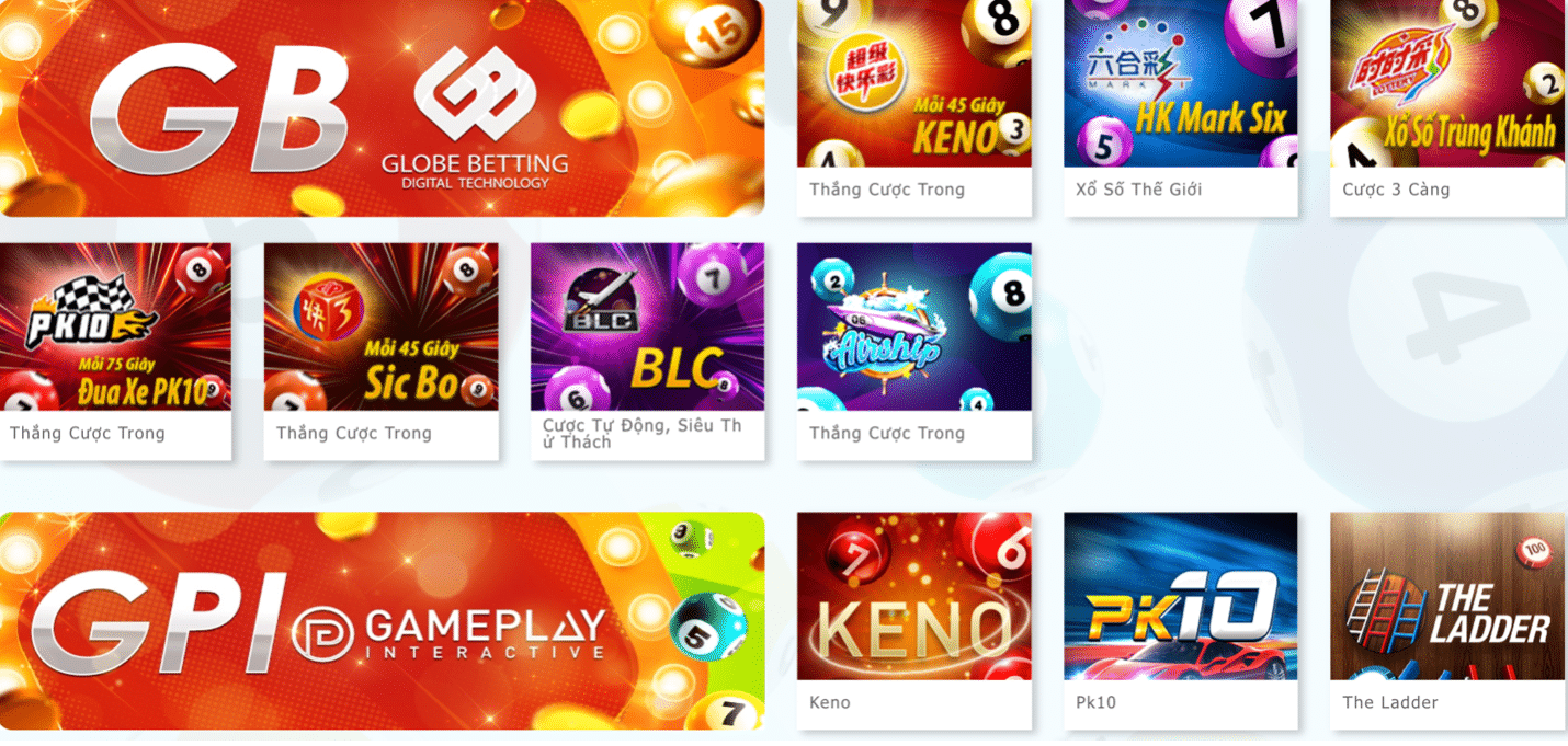 Cược Casino trực tuyến